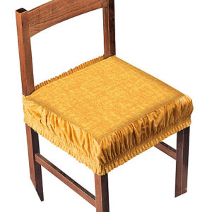 Potah na židli s okrajem  - Nový natahovací potah