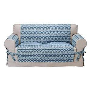 Přehoz na sedačku Zigzag  - Nový natahovací potah