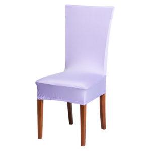 Potah na židli lila  - Natahovací elastický potah