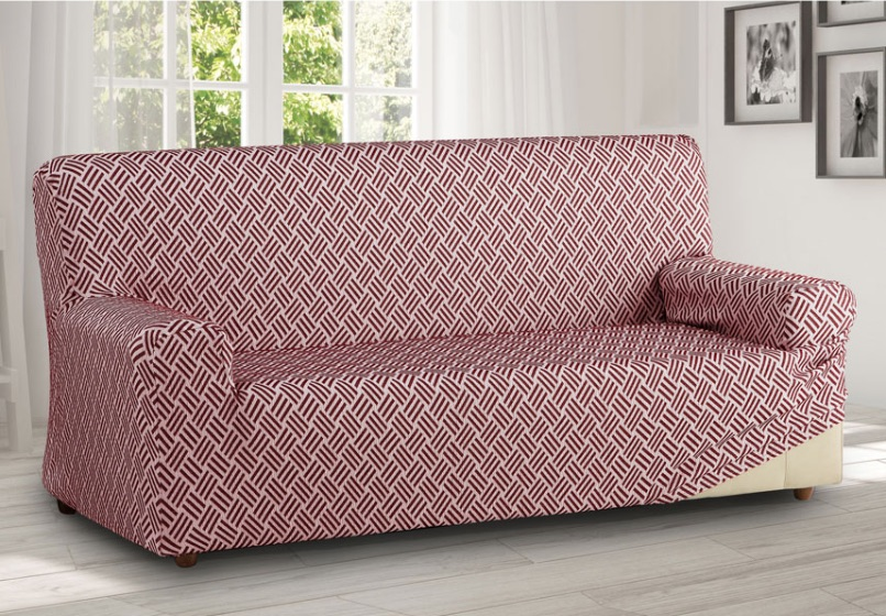 Natahovací potahy na pohovky, sedačky a křesla. Napínací elastické povrchy na starší sedací nábytek